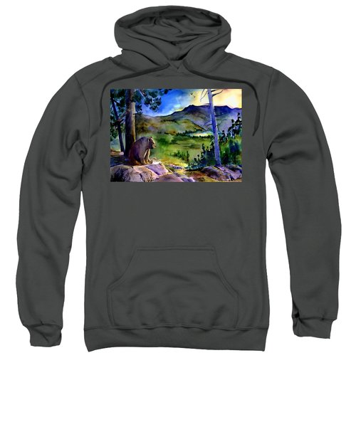 Bearly Light At Castle Peak Sweatshirt