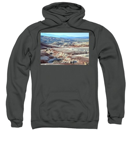 Bentonite Clay Dunes In Cathedral Valley Sweatshirt