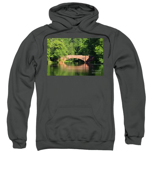 Bridge Reflection In The Spring Sweatshirt