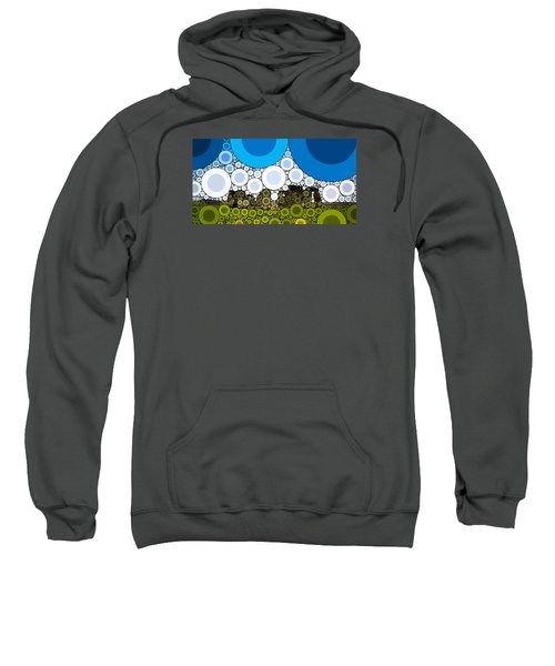 Bubble Art Stonehenge Sweatshirt