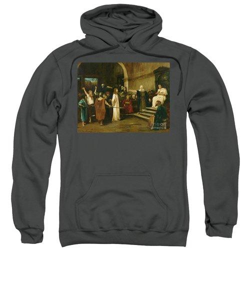 Christ Before Pilate Sweatshirt