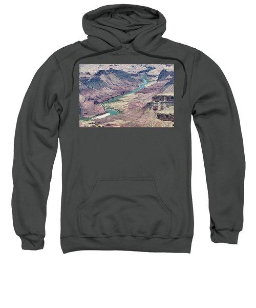 Colorado River In The Grand Canyon Sweatshirt