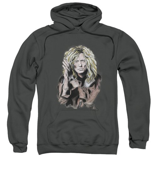 David Coverdale Sweatshirt by Melanie D