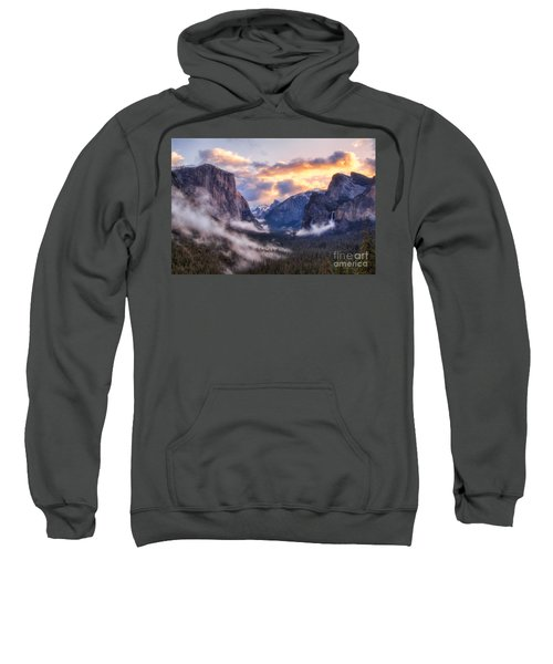 Daybreak Over Yosemite Sweatshirt