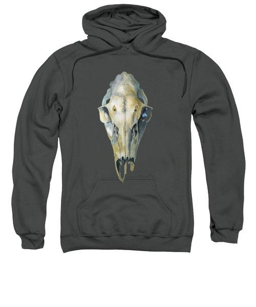 Deer Skull With Aura Sweatshirt