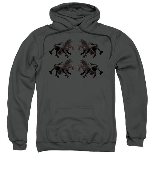 Dragon Cutout Sweatshirt