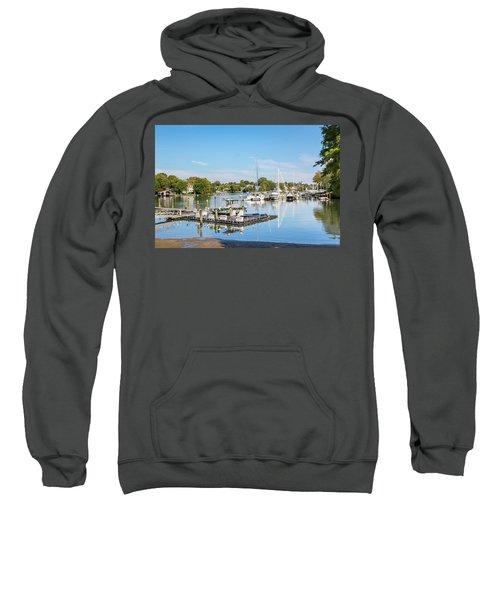 Early Fall Day On Spa Creek Sweatshirt