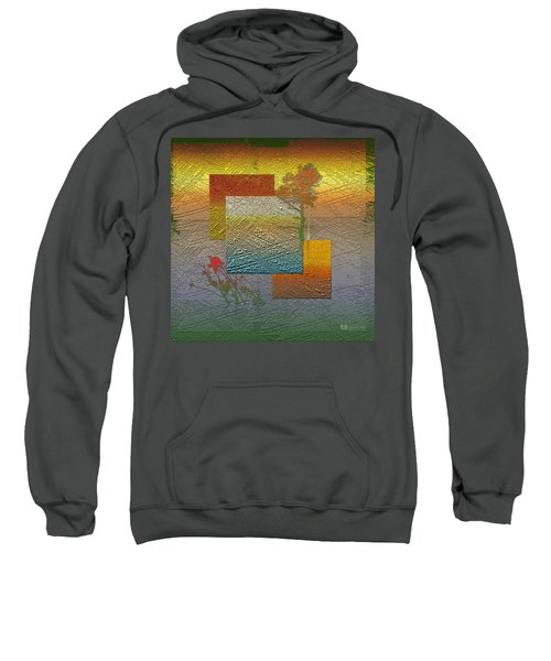 Early Morning In Boreal Forest Sweatshirt