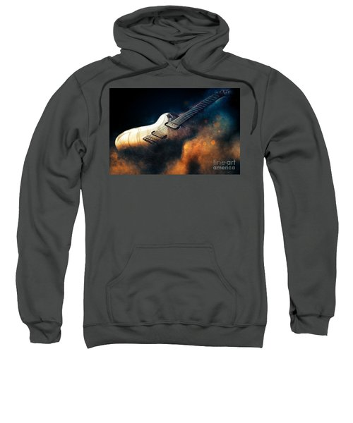 Electric Guitar Art Sweatshirt