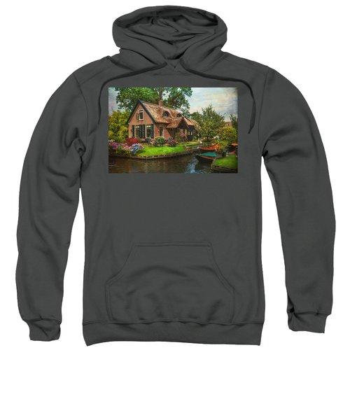 Fairytale House. Giethoorn. Venice Of The North Sweatshirt