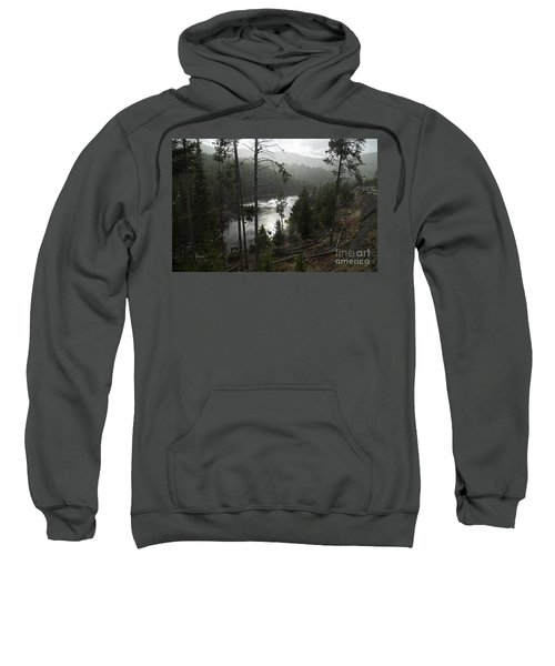 Firehole River In Yellowstone Sweatshirt