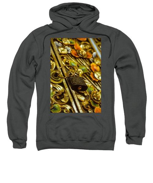 Hand Carved Security Sweatshirt