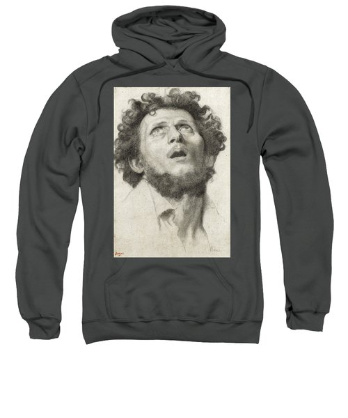 Head Of A Man Sweatshirt