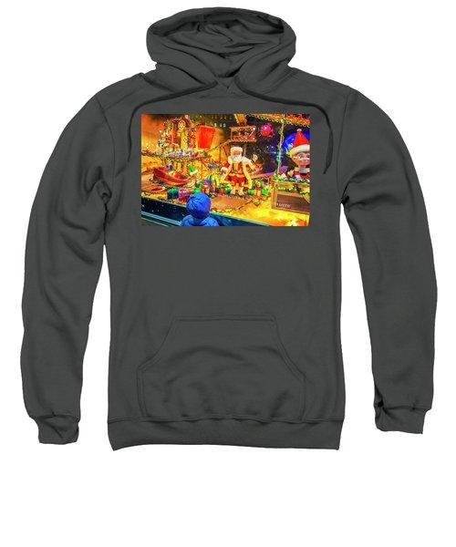 Holiday Widow Display In New York Sweatshirt