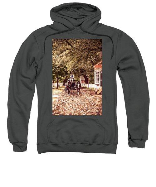 Horse Drawn Wagon Sweatshirt