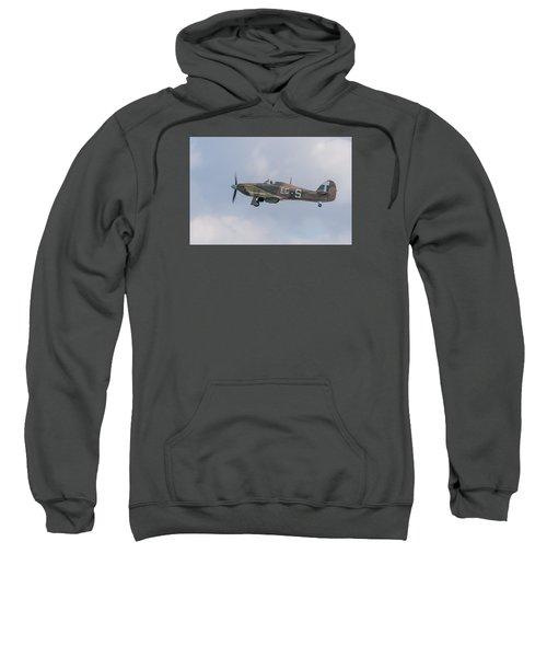 Hurricane Taking Off Sweatshirt by Gary Eason