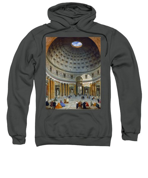 Interior Of The Pantheon, Rome Sweatshirt