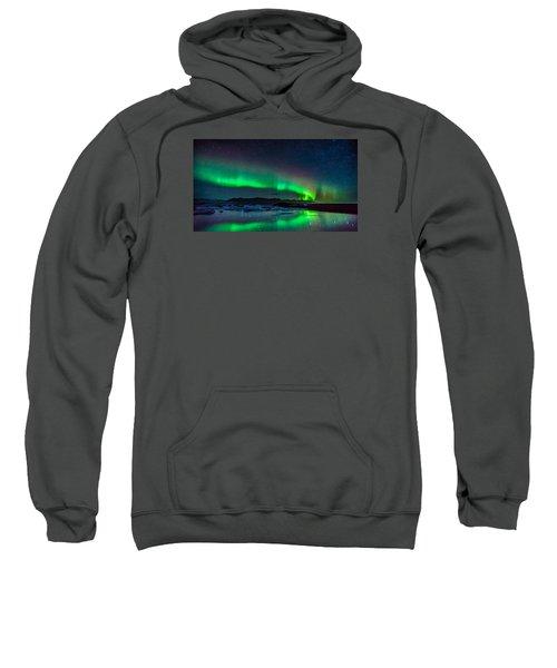 Jokulsarlon Aurora Sweatshirt