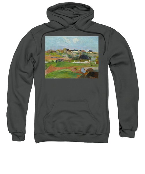 Landscape At Le Pouldu Sweatshirt