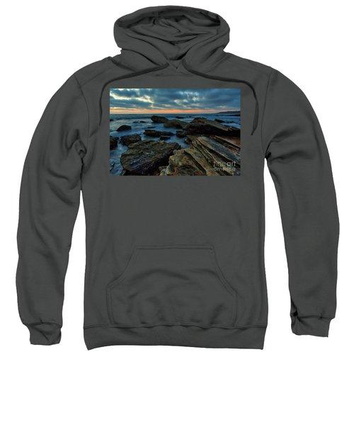 Last Light At Crystal Cove Sweatshirt