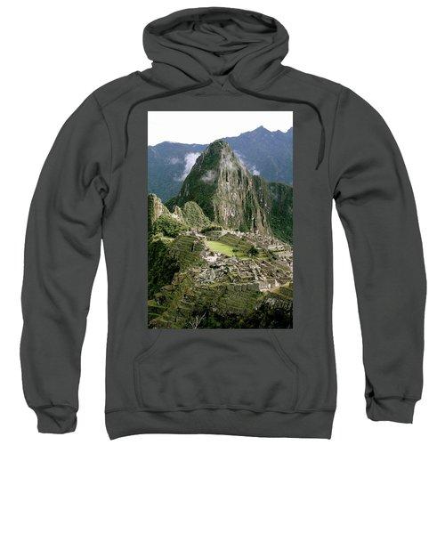 Machu Picchu At Sunrise Sweatshirt