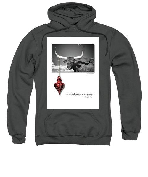 Majesty In Simplicity Sweatshirt