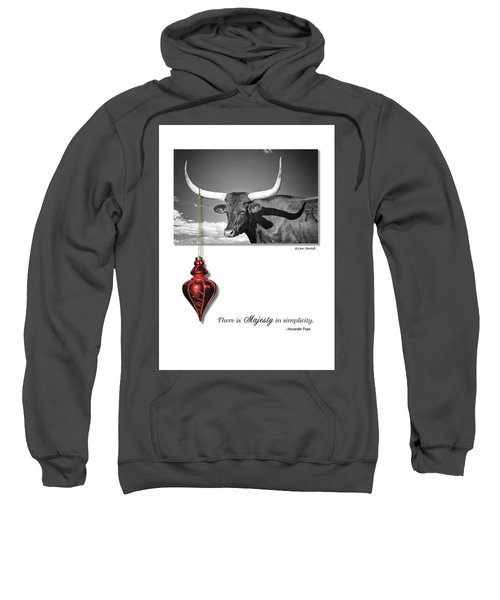 Majesty In Simplicity Sweatshirt