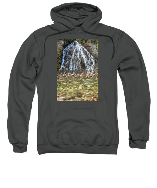 Cascades Of Maligne Canyon Sweatshirt