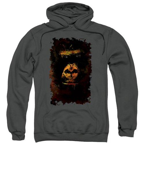 Mighty Gorilla Sweatshirt by Jaroslaw Blaminsky