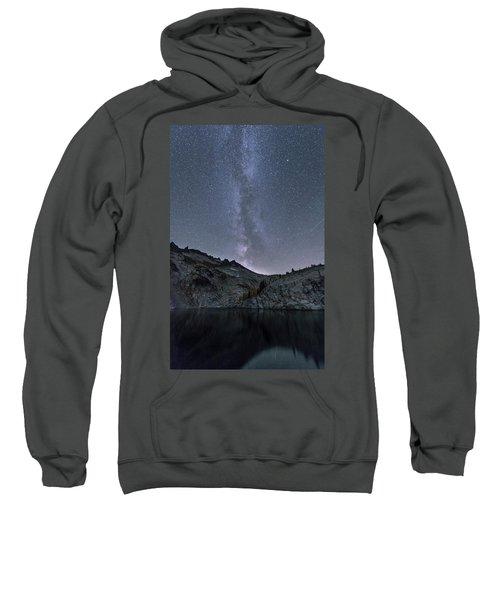 Milky Way At The Enchantments Sweatshirt