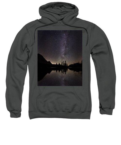 Mirror Lake Milky Way Sweatshirt