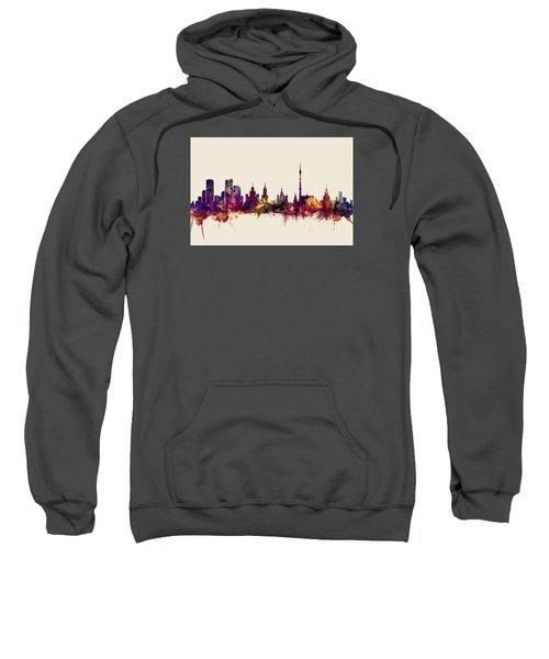 Moscow Russia Skyline Sweatshirt