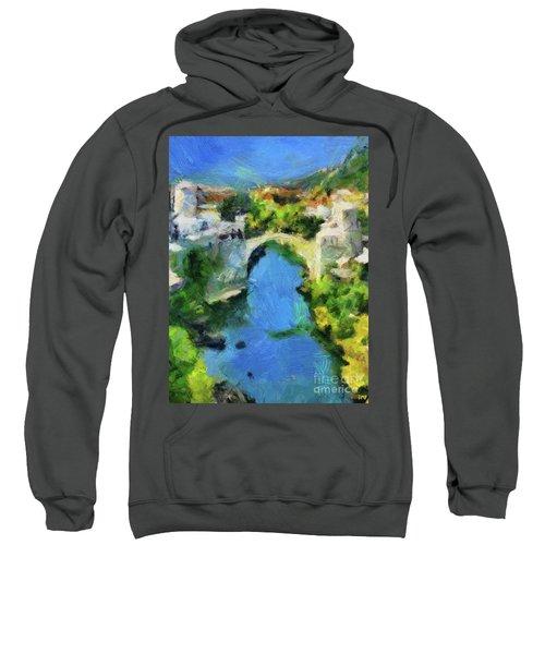 Mostar Old Bridge Sweatshirt