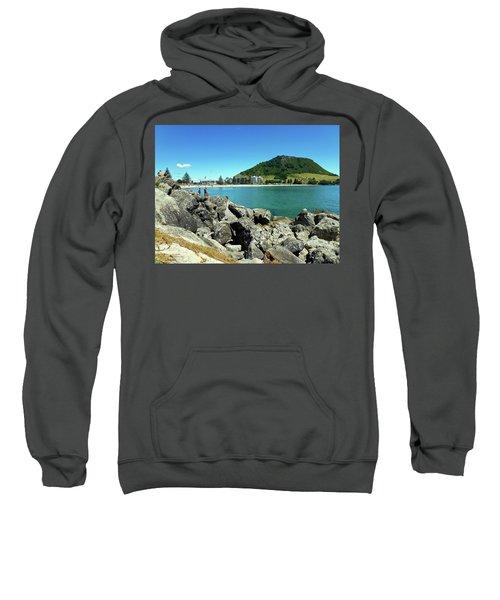 Mt Maunganui Beach 11 - Tauranga New Zealand Sweatshirt