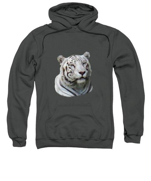 Namaste White Tiger Sweatshirt
