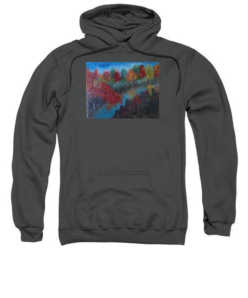 New Hampshire In Autumn Sweatshirt