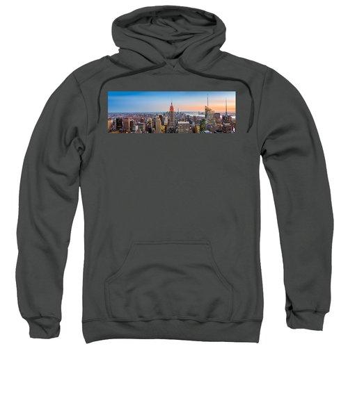 New York Skyline Panorama Sweatshirt
