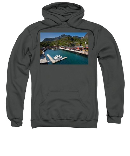 Nusfjord Fishing Village Sweatshirt