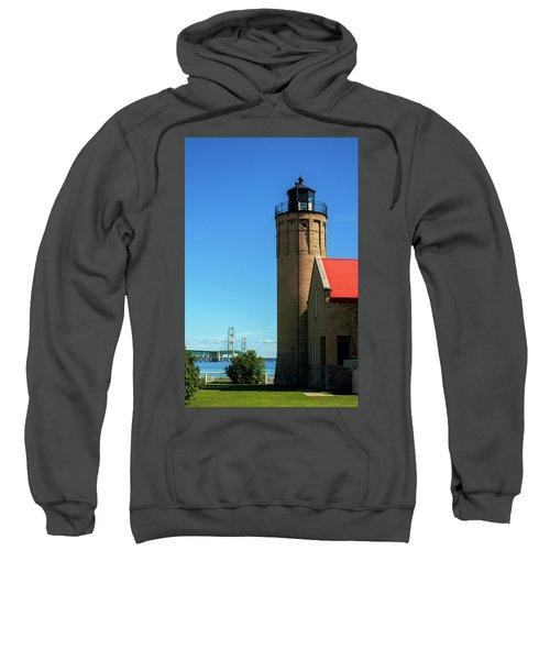 Old Mackinac Point Lighthouse Sweatshirt