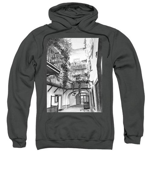 Old Viennese Courtyard Sweatshirt