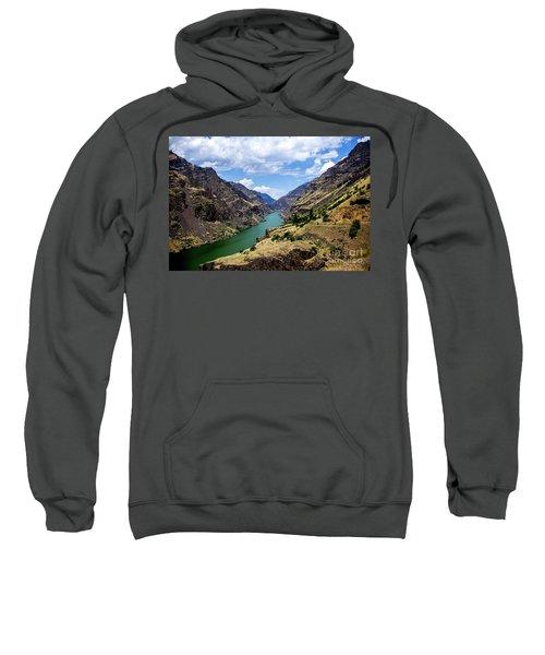 Oxbow Dam Tailwater Idaho Journey Landscape Photography By Kaylyn Franks  Sweatshirt