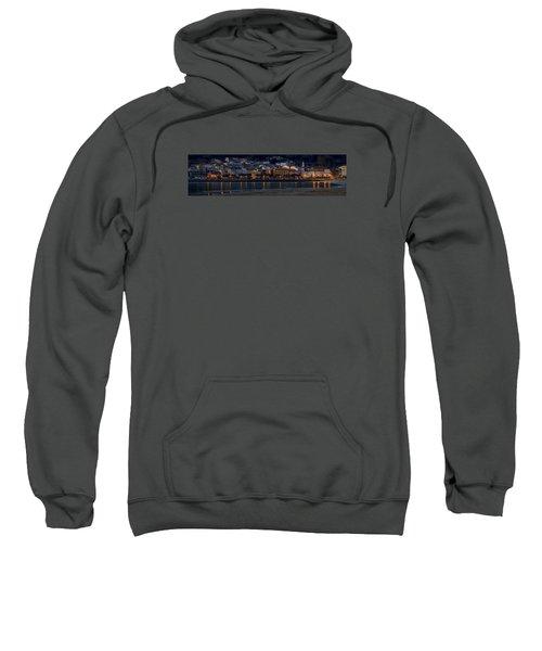 Panorama Of Cedeira Galicia Spain Sweatshirt