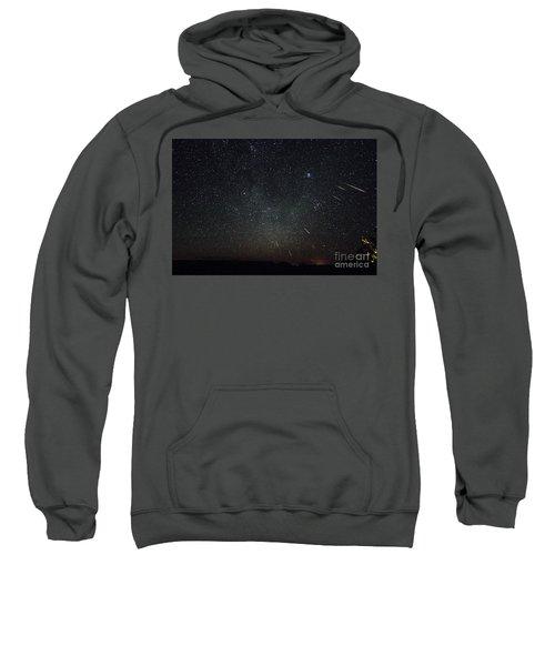Perseid Meteor Shower Sweatshirt