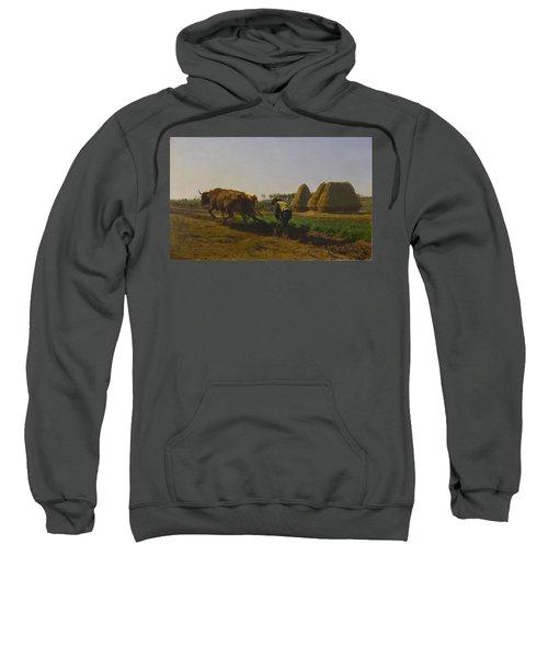 Ploughing In Nevers Sweatshirt