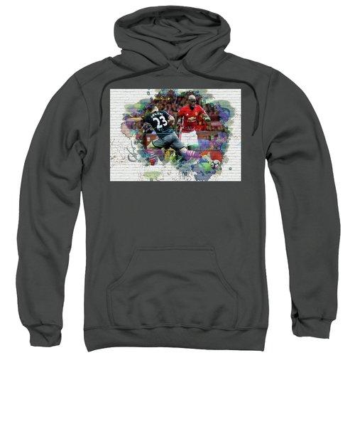 Pogba Street Art Sweatshirt by Don Kuing