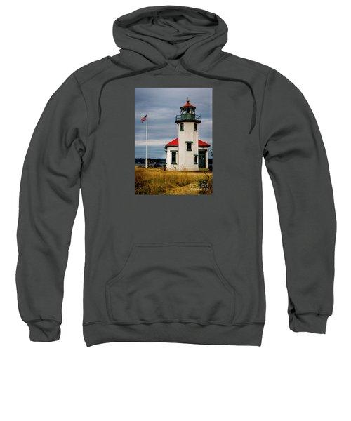 Point Robinson  Lighthouse,vashon Island.wa Sweatshirt