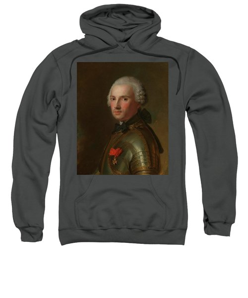 Portrait Of A Man In Armour Sweatshirt