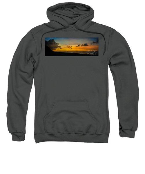 Puka Beach Sunset  Sweatshirt