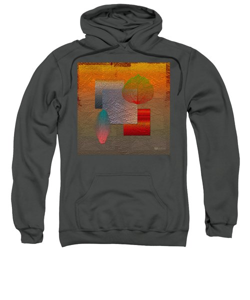 Quiet Sunset At The End Of Northern Summer  Sweatshirt by Serge Averbukh