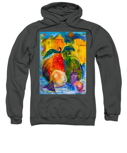 Red And Green Pears Sweatshirt